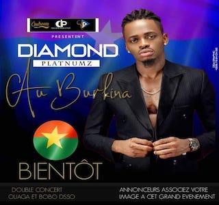 Diamond PLATNMUNZ pour une première au Burkina Faso