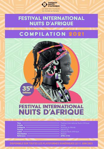 Compilation Festival Nuits d'Afrique 2021