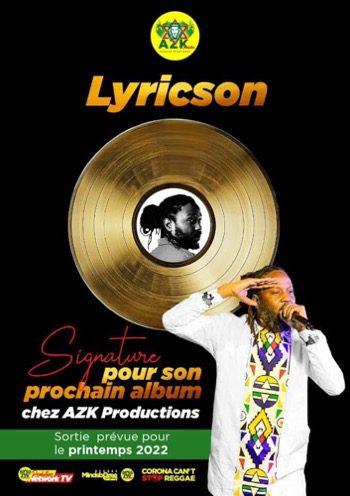 Lyricson, artiste reggaeman guinéen